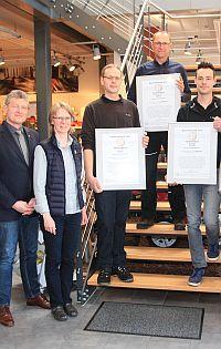 Auszeichnung als 1a Fachhändler