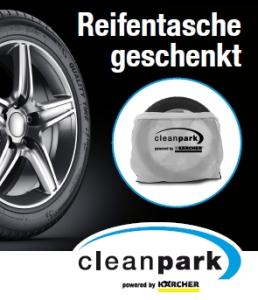 CleanPark-Aktion: Reifentasche geschenkt