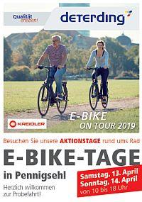 E-Bike-Tage 2019 in Pennigsehl