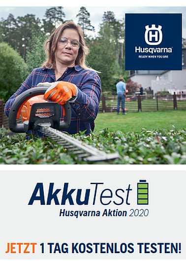 HUSQVARNA Akku-Test