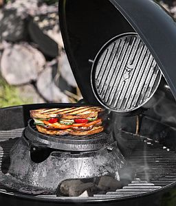 Das Waffeleisen für das WEBER Gourmet BBQ System