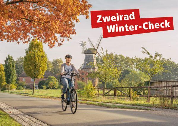 Winter-Check für Fahrrad, E-Bike und Motorroller