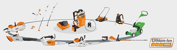 das stihl akkusystem pro f r den professionellen einsatz deterding gmbh garbsen nienburg. Black Bedroom Furniture Sets. Home Design Ideas