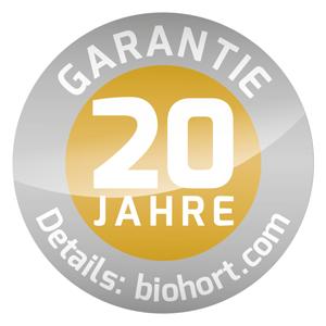 Biohort 20 Jahre Garantie