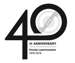 40 Jahre HONDA Rasenmäher