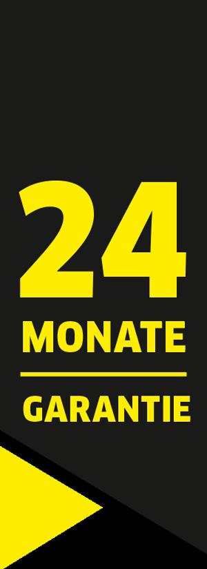 24 Monate Garantie