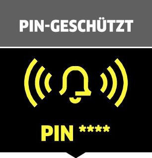 Schutz durch PIN-Code
