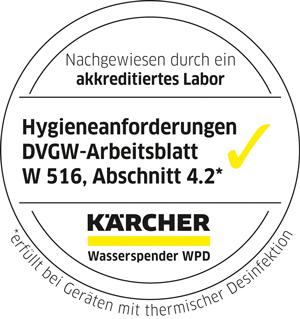Kärcher WPD erfüllt Hygiene-Anforderung