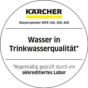 Kärcher WPD liefert Trinkwasserqualität