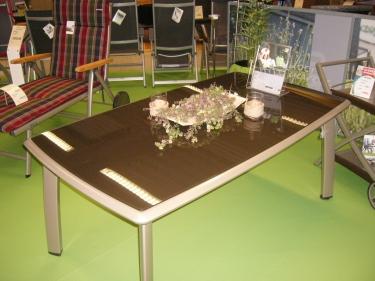 kettler tisch mit glasplatte. Black Bedroom Furniture Sets. Home Design Ideas