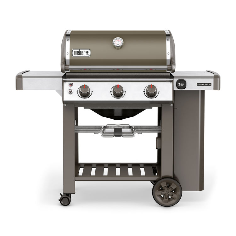 Weber Gas Grill Genesis II E-310 GBS in smoke grey