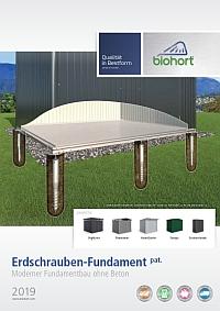 Biohort Erdschrauben-Fundament