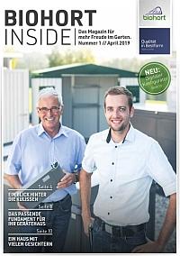 Biohort Inside - Das Kundenmagazin 2019
