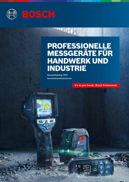 BOSCH Digitale Messtechnik Flyer