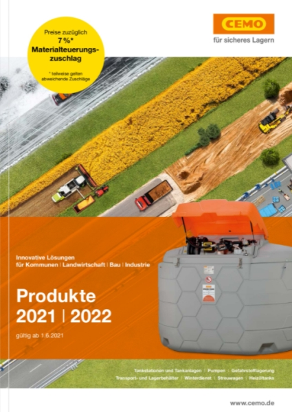 CEMO Katalog 2018/19