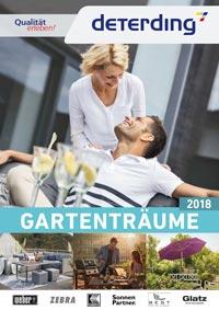 Deterding Gartenmöbel-Katalog 2018