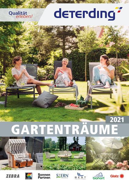 Deterding Gartenmöbel-Katalog 2019