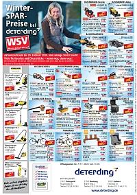 Winter-SPAR-Preise bei Deterding