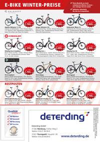 E-Bike Winterpreise