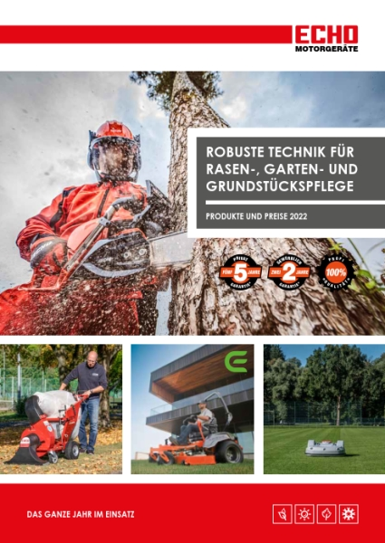 ECHO Motorgeräte Katalog 2019