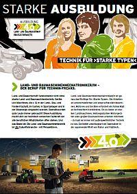 Infoflyer Motorgeräte-Mechatroniker