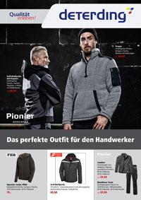 Workwear Handwerkerwochen Herbst/Winter 2019/20