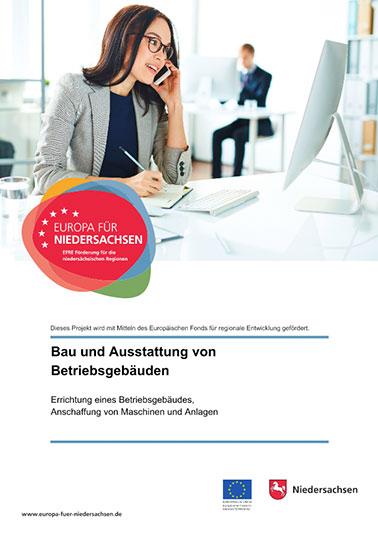 Plakat EU-Förderung Europa für Niedersachsen
