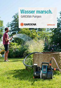 GARDENA Katalog Gartenpumpen 2018