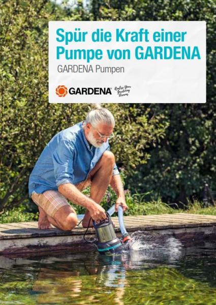 GARDENA Katalog Gartenpumpen 2019