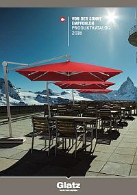 GLATZ Sonnenschirm-Katalog 2018