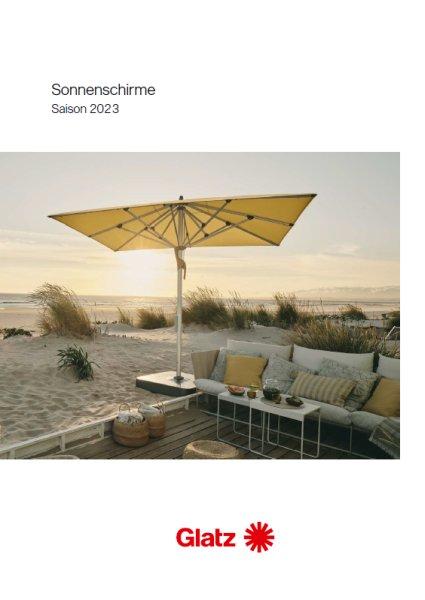 GLATZ Sonnenschirm-Katalog 2020