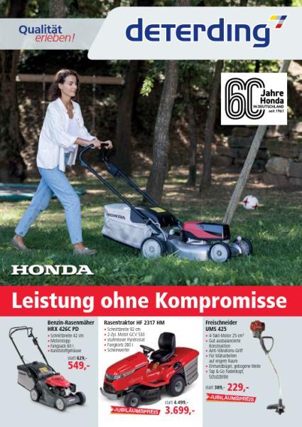 Honda Rasenmäher-Prospekt Sommer 2021