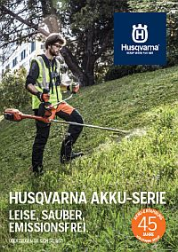 HUSQVARNA Akku-Broschüre 2018