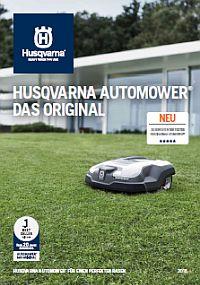 HUSQVARNA Broschüre Automower Experten 2018