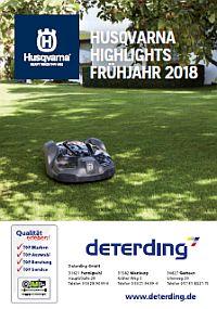 HUSQVARNA Frühjahrsbroschüre 2018