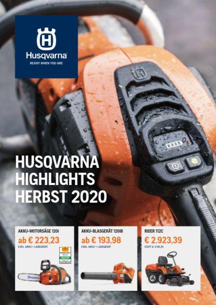 HUSQVARNA Aktions-Broschüre 2019/20