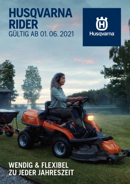 HUSQVARNA Rider-Broschüre 2017