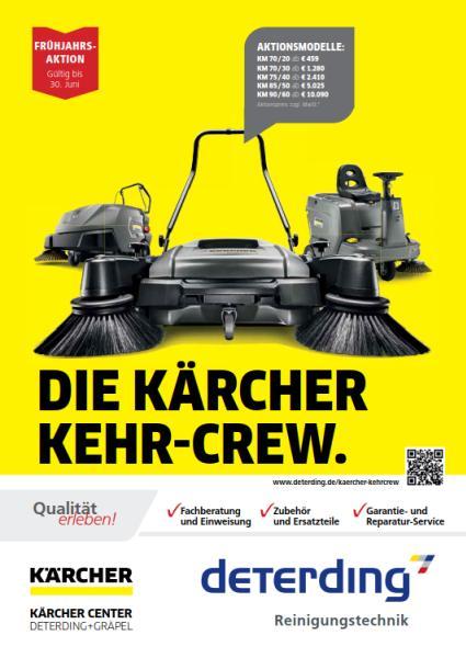 Die KÄRCHER Kehr-Crew