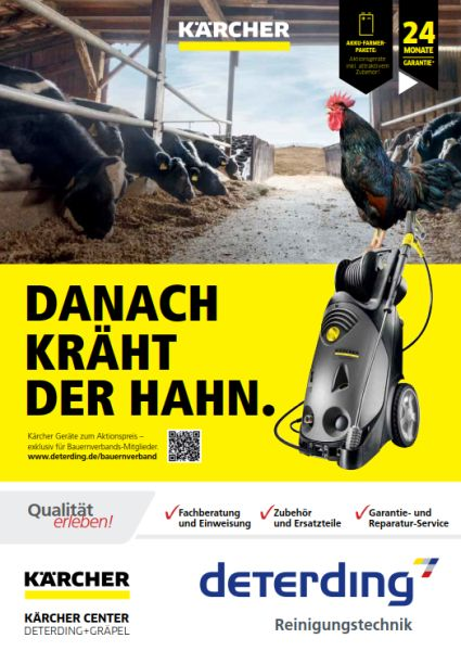 KÄRCHER Bauern­verbands­aktion 2019