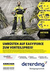 Aktions-Flyer KÄRCHER Easy!Force