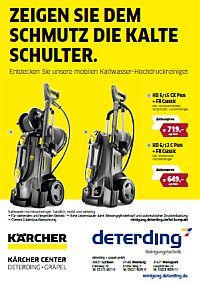 Kompakte Hochdruckreiniger von KÄRCHER