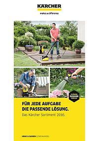 Kärcher Home & Garden Katalog 2016