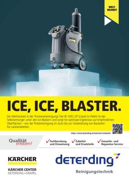Info-Broschüre Trockeneisreinigung von KÄRCHER