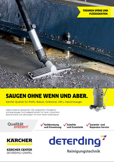 Flyer KÄRCHER Industriesauger IVR