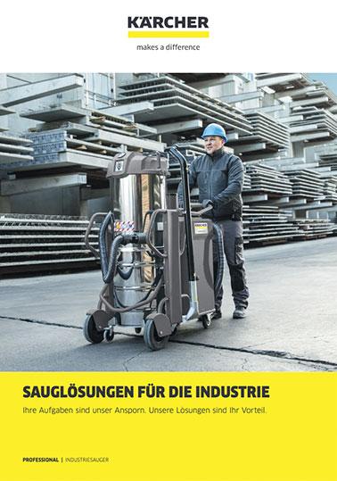 Info-Broschüre KÄRCHER Industriesauger