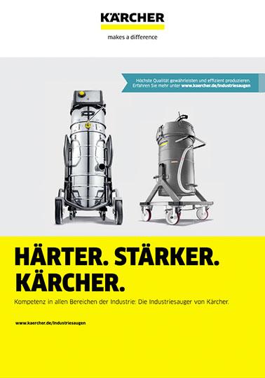 Info KÄRCHER Kompetenz Industriesaugen