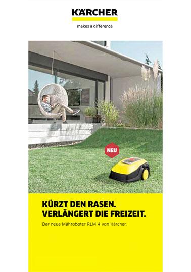 KÄRCHER Mähroboter-Broschüre