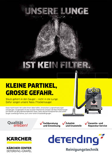 Aktions-Flyer KÄRCHER Industriesauger IVR