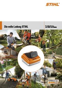 Broschüre zum STIHL AkkuSystem PRO