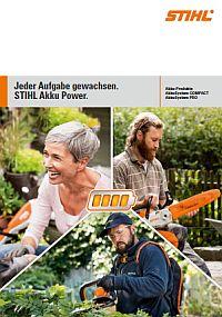 Broschüre zur STIHL Akku-Technik